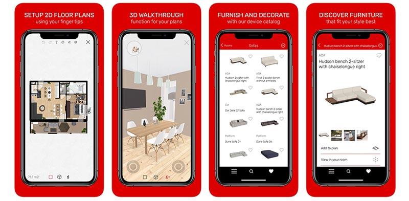 Roomle3D&ARのトップ画像