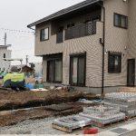 長野県S市の分譲地で建てた新築一戸建でプロに依頼した外構工事